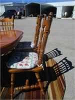 Wood Table w/ 5 Chairs