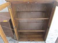 Bookshelf w/ Glass Doors