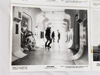 1977 STAR WARS Press Release Kit Publicity Photos