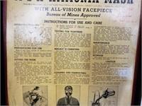 WWII Era 1944 MSA Ammonia Mask Case