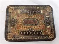 Vintage Handcrafted Leater Wallet Cigaratte Case