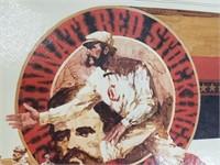 Seagrams Cincinnati Red Baseball Advertisement