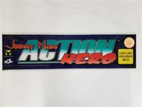 2004 Jonny Nero Action Hero Arcade Game Plate