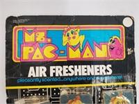 1981 Ms. Pac Man Air Fresheners Store Display