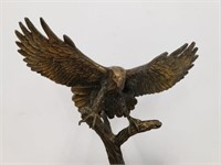 1983 Dee Clements Red Tailed Hawk Collectors Art