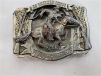 1995 Winchester An American Legend Belt Buckle