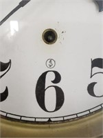 Vintage Wall Mount Regulator Clock With Key
