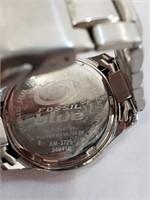 Fossil 100M Blue Wrist Watch