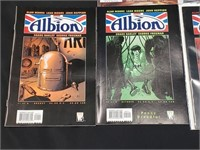 Lot of Apache Skies And Albion Comics
