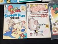 Astra Kongs Of The Night Wacky Squirrel Comics Lot