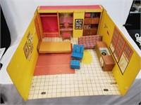 1962 Barbie Teenage Fashion Model Dream House