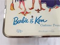 1964 Mattel Barbie And Ken Costume Trunk