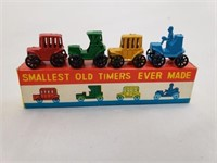 Smallest Old Timers Vintage Toy Vehicles