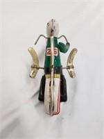 Vintage Wind Up Metal Toy Motorcycle MS-702