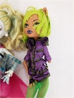 Lot Of Eight Monster High Dolls