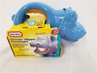Little Tikes Glowin Hippo Flashlight