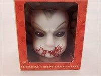 Baby Bleed You Alive Doll Head Two Figurine