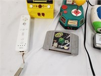 Video Game Lot PacMan Wii N64 & More