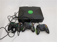 Xbox With Controllers
