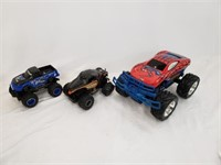 Monster Truck RC Toy Lot (Missing Remotes)
