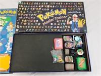 Milton Bradley Pokemon Master Trainer Board Game