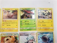(10) Pokemon Cards With Rare And GX Foil
