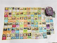 (60+) Pokemon Cards With EX Foil And Basic Foils