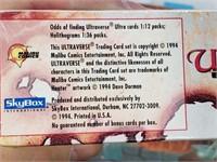 1994 Sky Box Master Series Sealed Ultraverse Cards