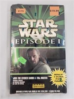 Star Wars Ep I Sealed Card Pack With Foil Inserts