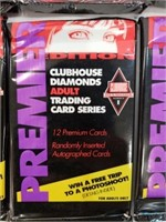 Premier Clubhouse Diamonds Adult Trading Cards