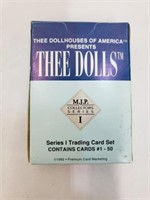 1992 Thee Dolls Collector Series I Trading Cards