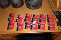Lot of 12 New Padlocks w/ Keys