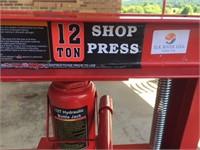 New 12 Ton SHOP Press