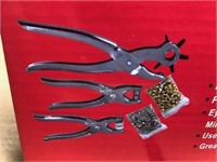 New 78 pc Leather Punch / Gromment Kit