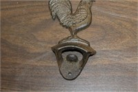 Cast Iron Rooster Bottle Opener