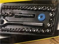 New 40 pc Socket Set in Hard Case