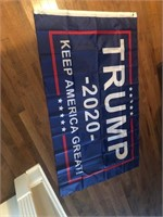 New Trump 2020 3'x5' Flag