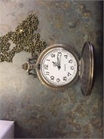 Motorcycle Pocket Watch