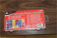 New 360 pc Wire Terminal Assortment