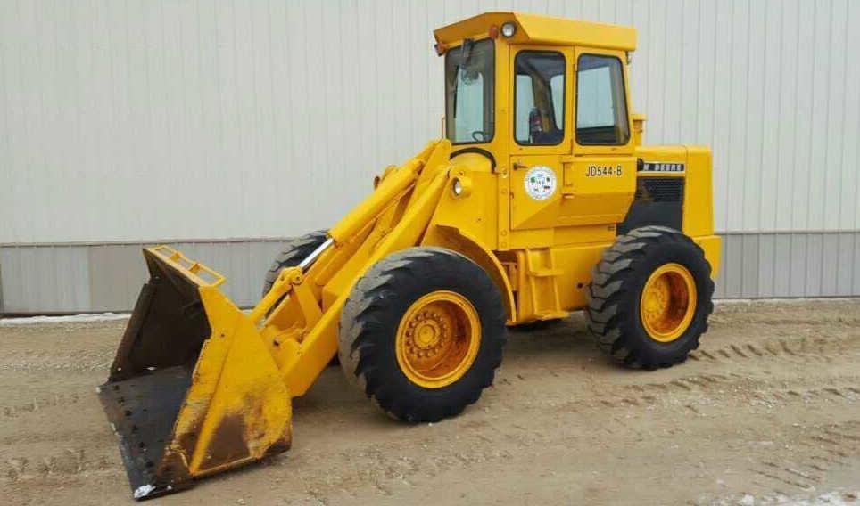 John Deere 544B Wheel Loader | Wisconsin Tractor