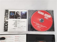 Michael Jackson Bad CD And Number Ones DVD