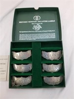 Pewter Stieff Co. Historic Newport Decanter Labels