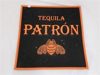 Orange Tequila Patron Rubber Bar Mat