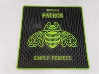 Green Tequila Patron Simply Perfect Rubber Bar Mat