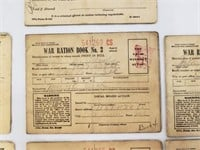 1944 United States War Ration Book Lot