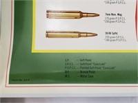 1973 Remington Gun Ammo Poster Advertisement Lot