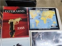 Beretta, Military And Gun Advertisment Lot
