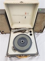 Westinghouse H62MPS1 Record Player And Speakers