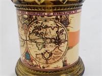 Vintage Made In Hong Kong Oil Lamp