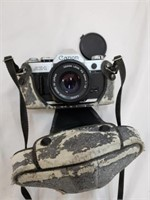 Canon AE-1 And Carrying Case